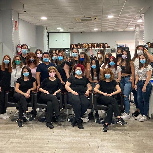 Grupo Alumnos - Academia Peluquería Toledo
