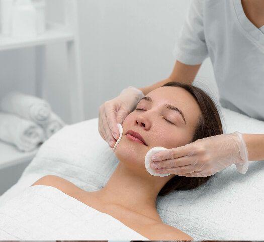 Curso de higienes y tratamientos faciales